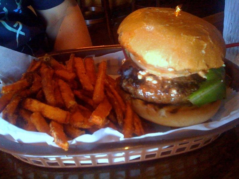 Black Buffalo Burger at Black Sheep Lodge